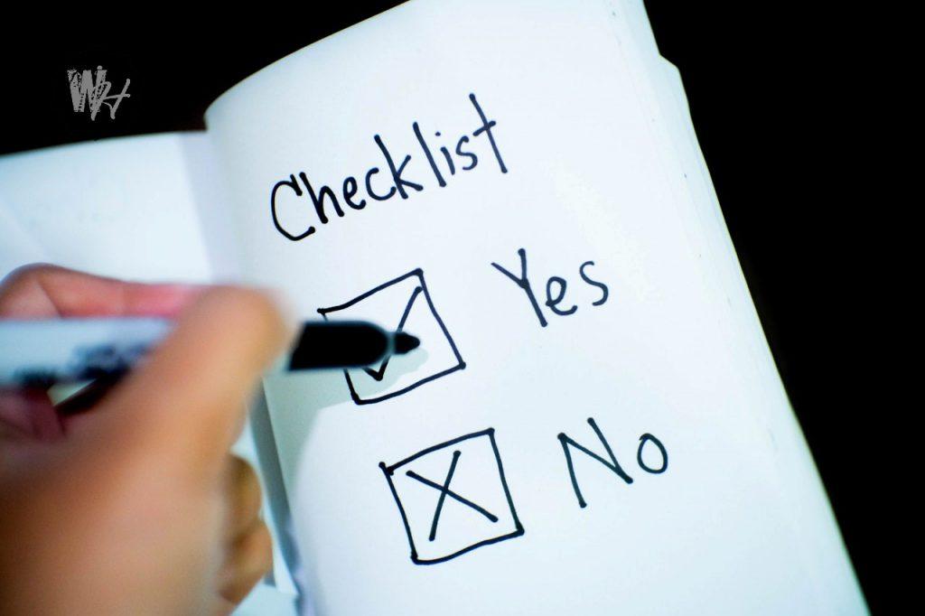 آموزش نوشتن چک لیست مقاله 2